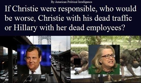 Christie Versus Hillary